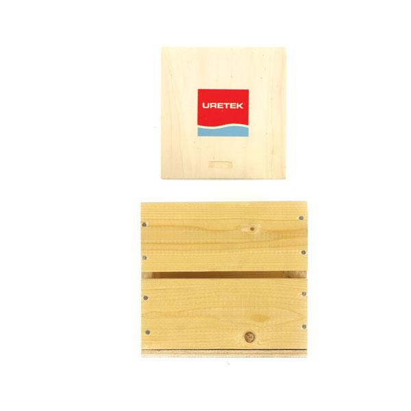 Kistje met schuifdeksel