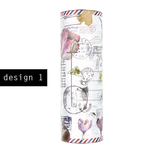 Bloembollen als geschenk in eigen design XL koker