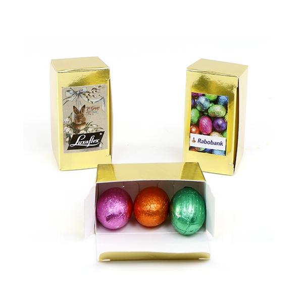 Gouden doosje Pasen