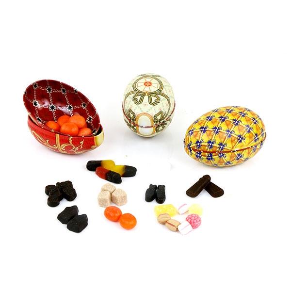 Fabergé eieren gevuld met heerlijke snoepjes naar keuze