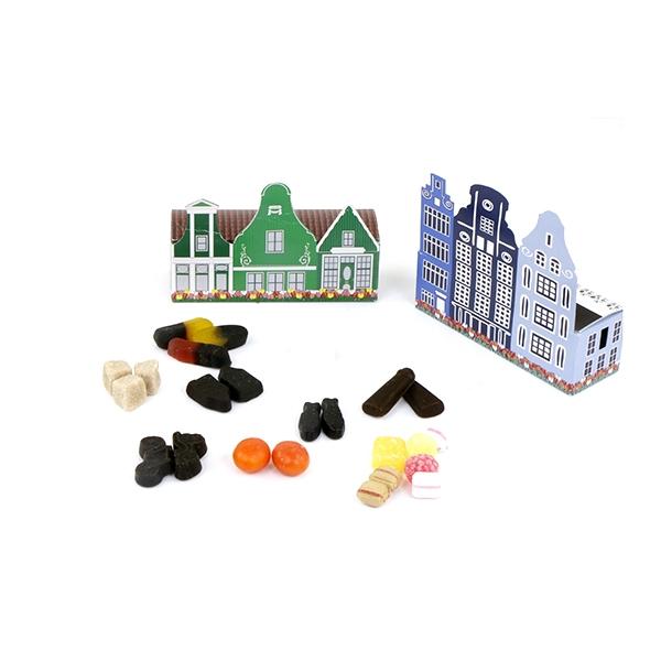snoepjes in Hollands grachtenpandje