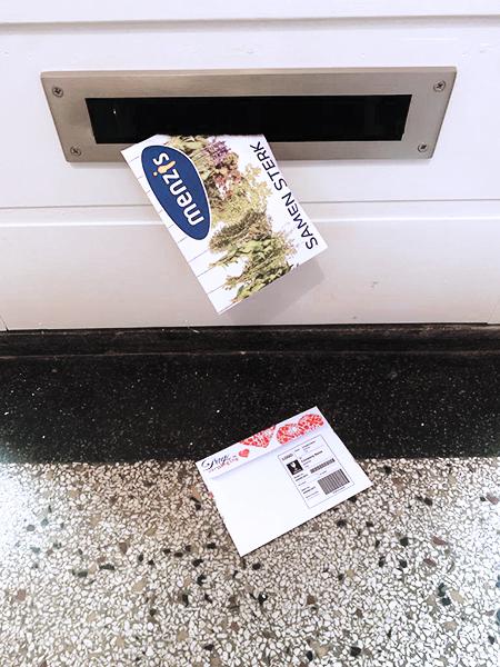 keukenkruiden enveloppe